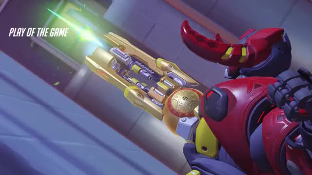 Watch and share Environmental Kill GIFs and Overwatch GIFs by riddle on Gfycat