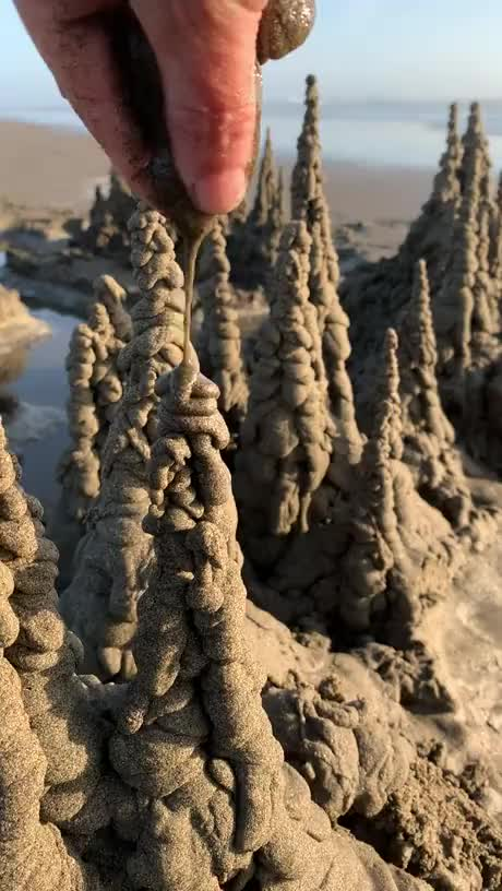 Watch and share Drip Sandcastle GIFs by Gif-vif.com on Gfycat