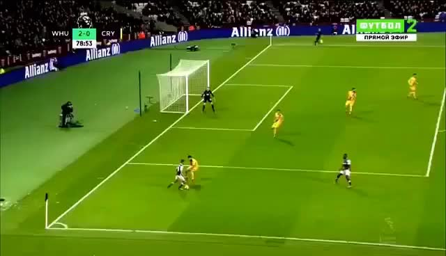 Watch and share Andy Carroll Goal Vs Crystal Palace GIFs on Gfycat
