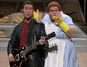 Watch and share Saturday Night Live GIFs and Adam Sandler GIFs on Gfycat