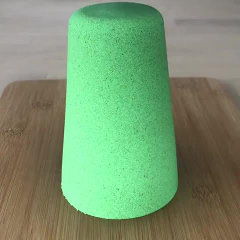 Watch and share Smooshing Kinetic Sand GIFs on Gfycat