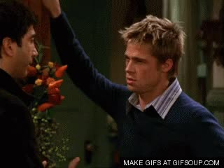 Watch friends brad pitt GIF on Gfycat. Discover more related GIFs on Gfycat