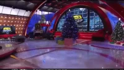Watch Shaquille O'Neal fighting Christmas tree in TNT Halftime Show (reddit) GIF on Gfycat. Discover more IdiotsFightingThings, idiotsfightingthings GIFs on Gfycat