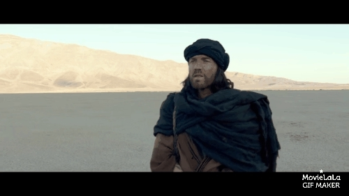 foreveralone, gifs, movies, Last Days in the Desert Trailer GIFs