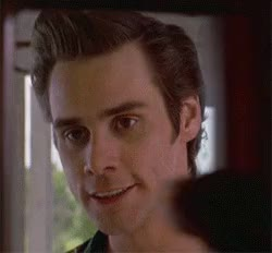 Watch and share Jim Carrey GIFs and Hi GIFs by Reactions on Gfycat