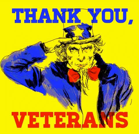 Watch and share Veterans Day GIFs and Thank You GIFs by Reactions on Gfycat