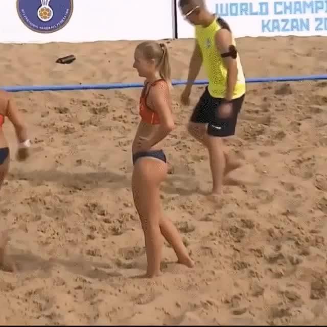 Watch Norway Women's Beach Handball GIF on Gfycat. Discover more Ohlympics, volleyball GIFs on Gfycat