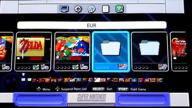 Watch and share SNES Classic Per-Folder UI PoC GIFs by pyorin on Gfycat