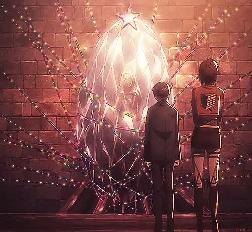 """Watch and share Dithe-r: SNK GIF Christmas Lights """" How Am I Even Supposed To Explain This """" GIFs on Gfycat"""