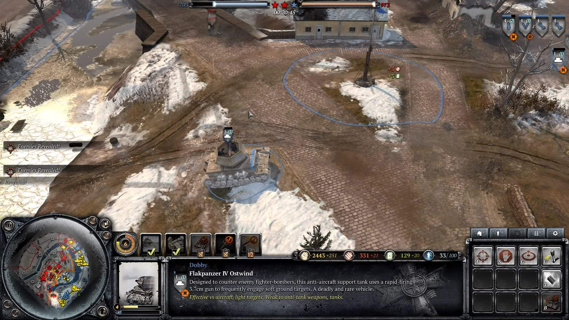 CompanyOfHeroes, companyofheroes, Latest update showing off Germany's new Man-Cannon. (reddit) GIFs