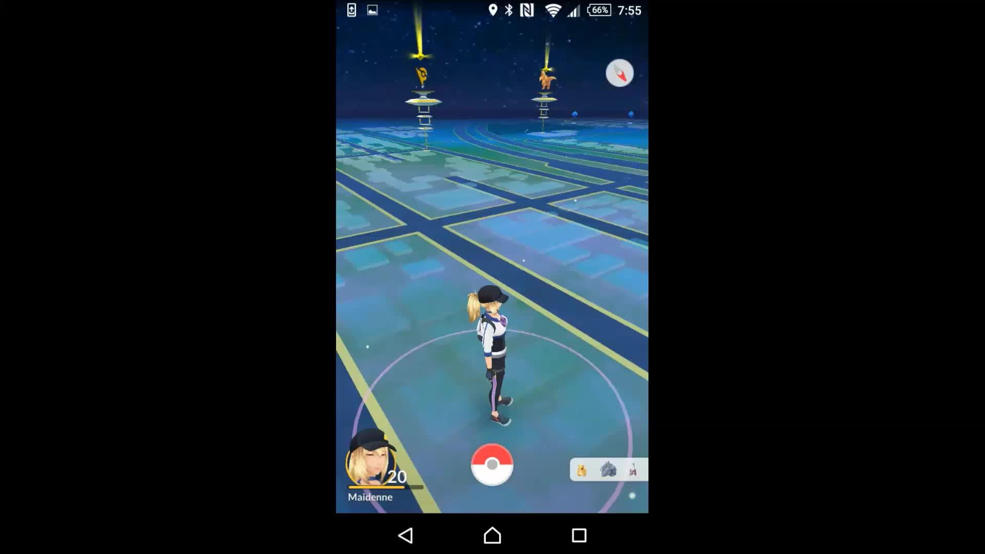 [PokemonGO] 4/6 Instinct Gyms GIFs