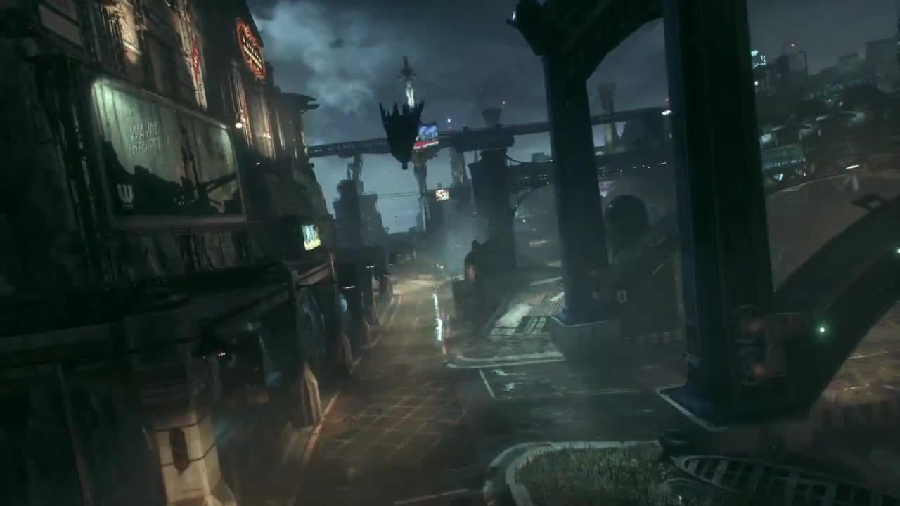 batmanarkham, Divebomb to Batmobile (PS4) GIFs