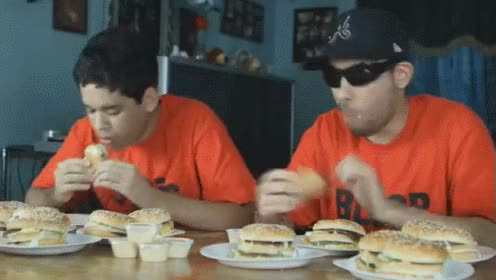 Watch and share McDonalds Big Mac Eating Competition! GIFs on Gfycat