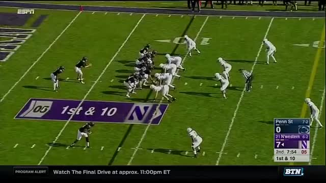 Watch and share Penn State At Northwestern - Football Highlights GIFs by bscaff on Gfycat