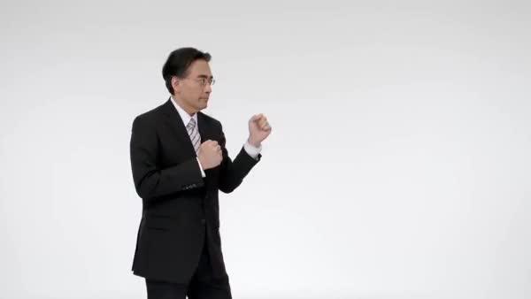 Watch and share Iwata Upvote GIFs on Gfycat