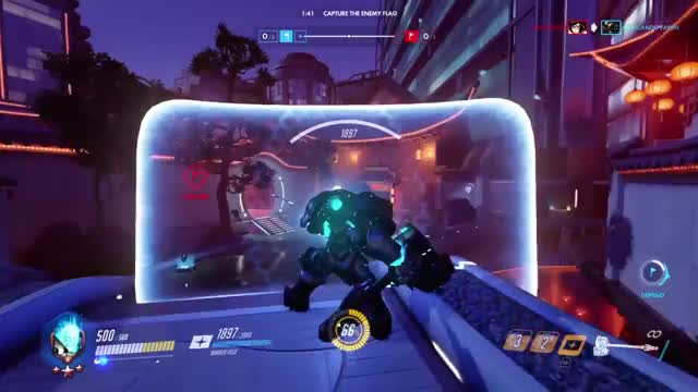 Overwatch reinhardt play of the game video