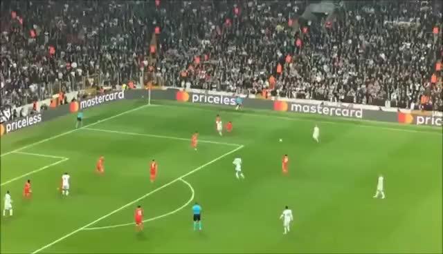 Watch and share Cenk Tosun VOLE - EFSANE (Beşiktaş-Benfica) GIFs on Gfycat