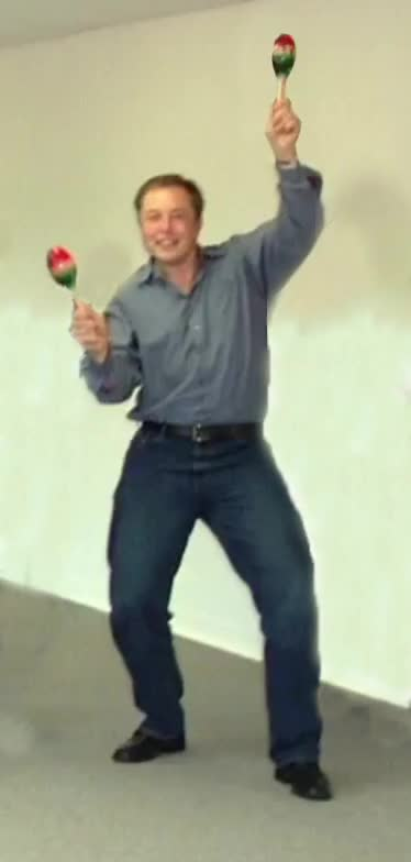 Watch dancing elon GIF on Gfycat. Discover more related GIFs on Gfycat
