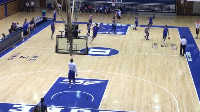 Watch and share Duke Basketball Open Practice 2016 GIFs on Gfycat