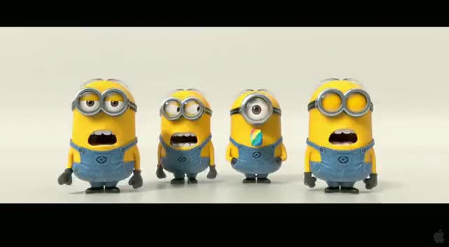 Watch Minions singing GIF on Gfycat. Discover more minions GIFs on Gfycat