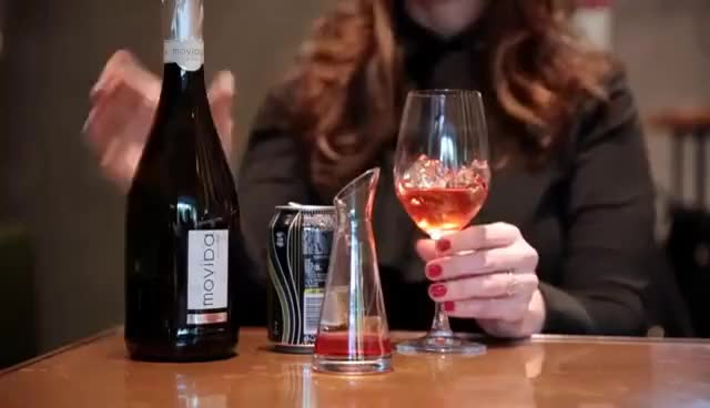 Watch Sparkling Wine Cocktails: Aperol Spritz GIF on Gfycat. Discover more related GIFs on Gfycat