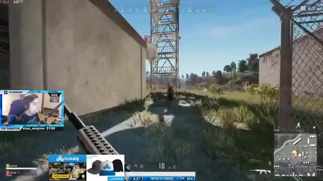 SHROUD INSANE 1 TAPS