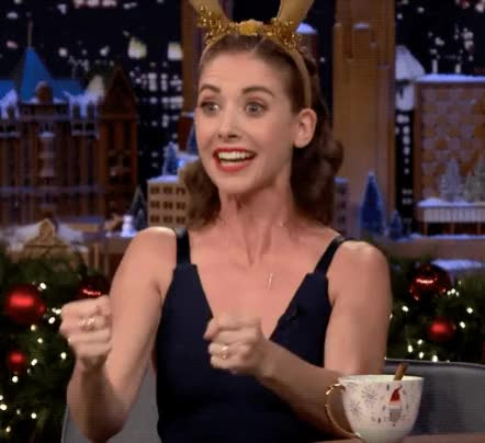 Watch and share Alison Brie GIFs by Reactions on Gfycat