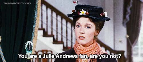 Watch julie andrews mary poppins gif GIF on Gfycat. Discover more related GIFs on Gfycat