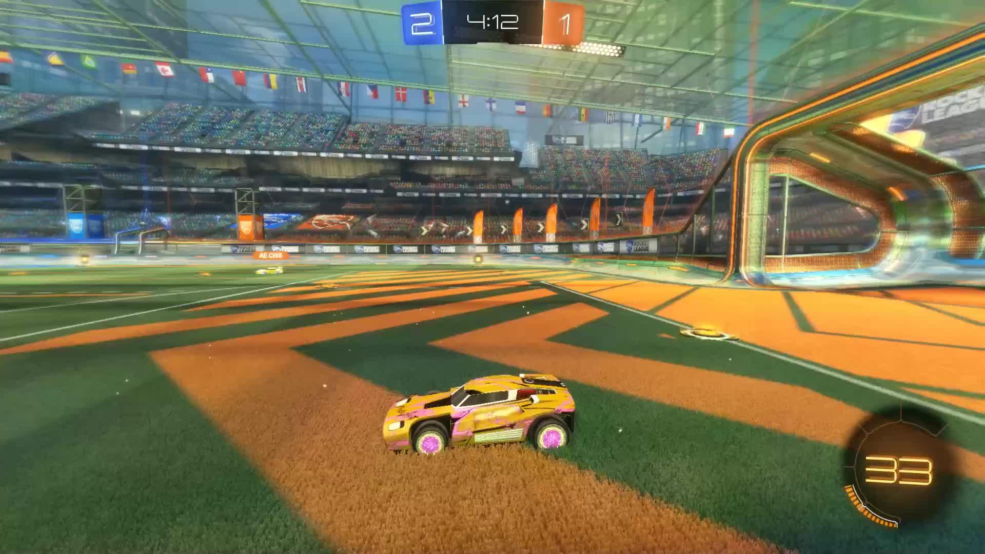 Gif Your Game, GifYourGame, Goal, Rocket League, RocketLeague, W1ZarD, Goal 4: W1ZarD GIFs
