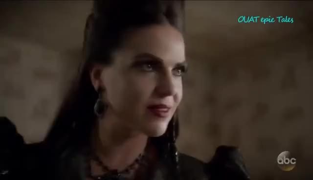 """Watch Once Upon A Time 6x06 Regina Evil Queen Zelena Snow """"Dark Waters"""" Season 6 Episode 6 HD GIF on Gfycat. Discover more related GIFs on Gfycat"""