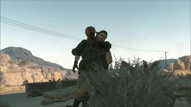 Watch and share Mgs V Don't Fight It GIFs by snakesenpai on Gfycat