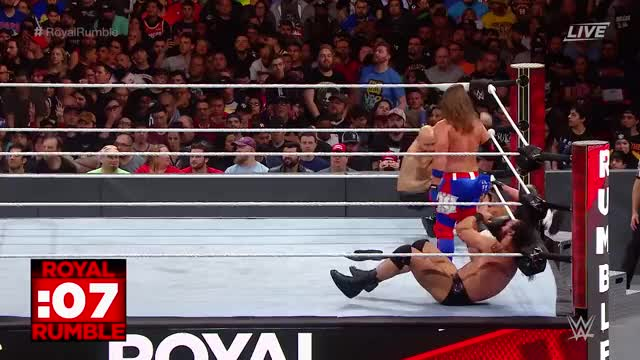 Watch and share [Royal Rumble Spoilers] Entrant #21 In The Men's Royal Rumble GIFs on Gfycat