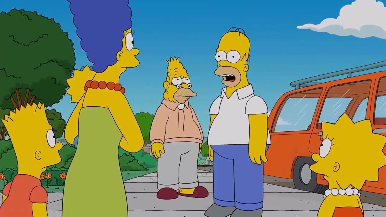 Simpson, Springfield, cartoon, simpsons, Abe Simpson WW2 Models GIFs