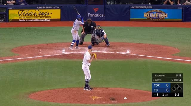 Watch and share Toronto Blue Jays GIFs and Tampa Bay Rays GIFs by _ben_clemens on Gfycat