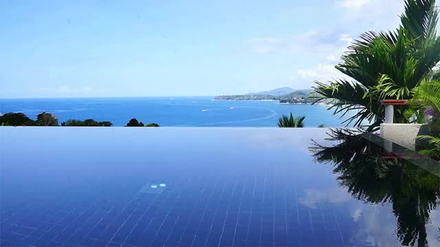 Watch and share Infinity Pool GIFs and Sea View GIFs by phuketkit on Gfycat