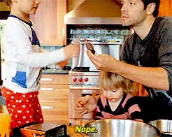 Watch and share Misha Collins GIFs and Nope GIFs on Gfycat