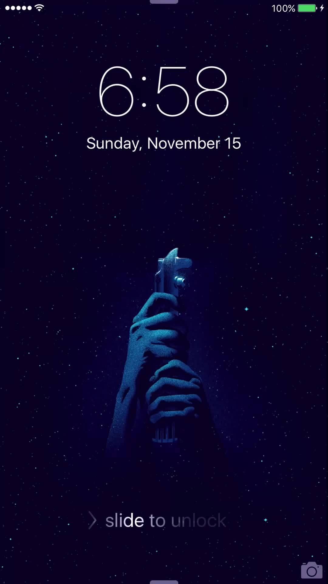 StarWars, iOSthemes, I made a custom iPhone live wallpaper! (reddit) GIFs