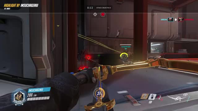 Watch montage 18-06-20 20-15-40 GIF on Gfycat. Discover more highlight, overwatch GIFs on Gfycat