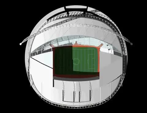 Watch Wembley Stadium roof animation GIF on Gfycat. Discover more related GIFs on Gfycat
