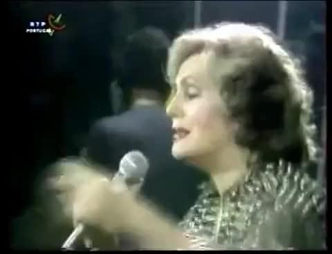 "Watch and share AMÁLIA Canta Na  "" GRANDE NOITE DO FADO  "" Coliseu Lisboa 1982 GIFs on Gfycat"