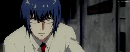 Watch TOKYO GHOUL - aoc GIF on Gfycat. Discover more and Arima does not have a dorito chin!!!, arima kishou, gifs, i can't wait to watch this, so far the PV have all looked goooooood, tgedit, tokyo ghoul, tokyo ghoul: jack, tokyo kushu, toukyoghoul, ~maria~ GIFs on Gfycat