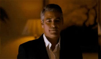 Watch and share George Clooney GIFs by Reactions on Gfycat