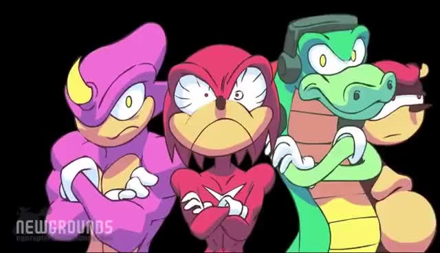 Watch and share Awesome Chaotix GIFs and Egoraptor GIFs on Gfycat