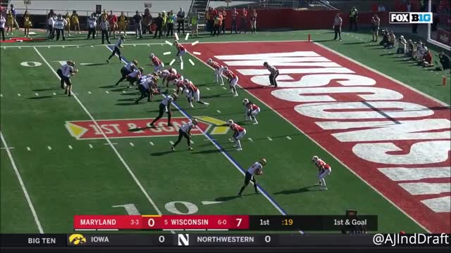 Watch Nick Nelson (Wisconsin CB) vs Maryland - 2017 GIF on Gfycat. Discover more Nick Nelson, Wisconsin GIFs on Gfycat