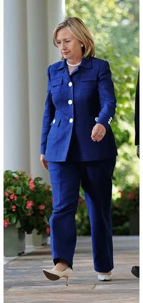 Watch But for some baby-boomers, the pantsuit is as much a symbol of empowerment as it is a sign of solidarity, said Wietzke. GIF on Gfycat. Discover more related GIFs on Gfycat