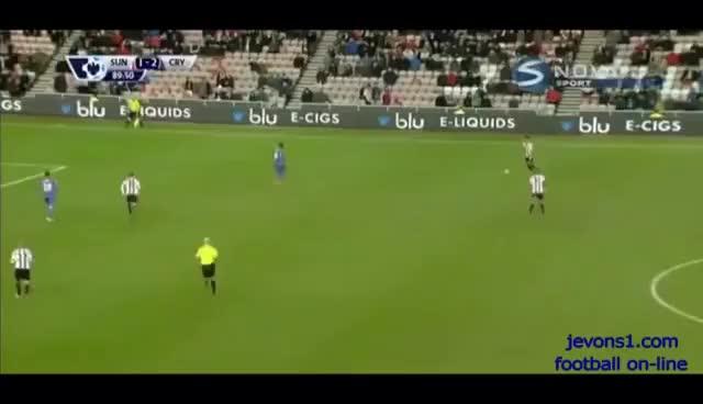 Watch and share Fabio Borini Amazing Goal Vs Crystal Palace GIFs on Gfycat