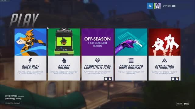 Watch and share Overwatch Menu Game GIFs on Gfycat
