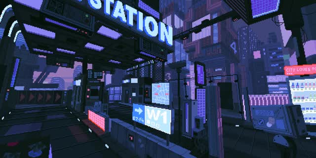 Watch and share Https://www.wykop.pl/wpis/34180059/cyberpunk-pixelart-gif/ GIFs on Gfycat