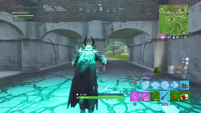 Watch this GIF by Xbox DVR (@xboxdvr) on Gfycat. Discover more FortniteBattleRoyale, MerlinTahTurtle, xbox, xbox dvr, xbox one GIFs on Gfycat