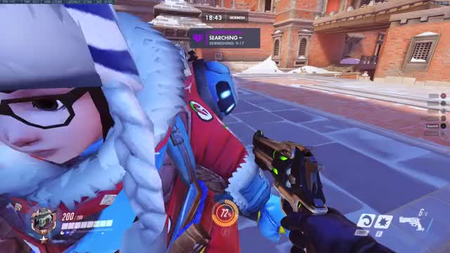 Watch and share Overwatch GIFs and Ana GIFs by Mhmd Bassam Nasyr on Gfycat